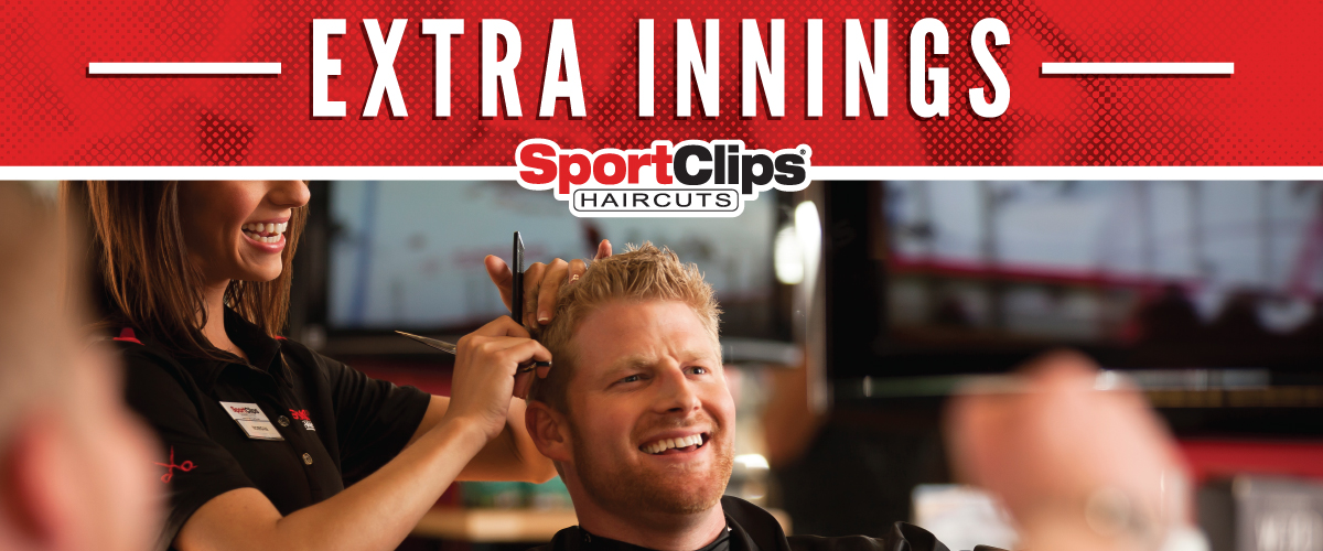 The Sport Clips Haircuts of Silverdale Extra Innings Offerings